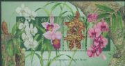 AUS SGMS1804 Australia-Singapore Joint Issue: Orchids miniature sheet